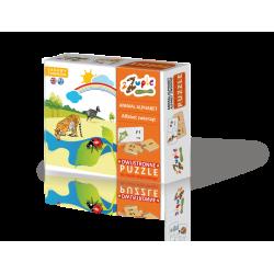 Puzzle - Alfabet zwierząt