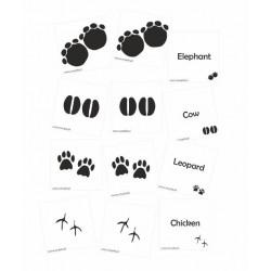 Footprints - mata sensoryczna 100cm*100cm