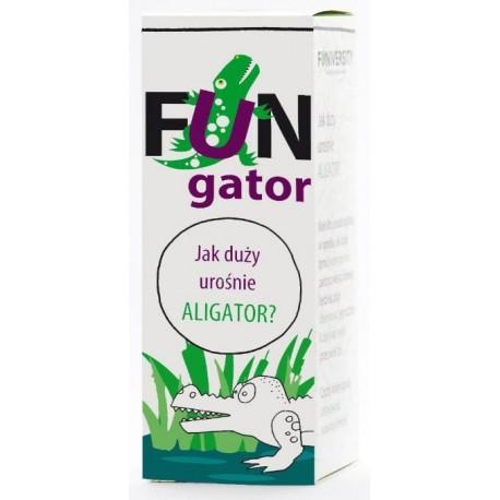 FUN gator - jak duży urośnie ALIGATOR?