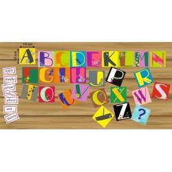 English alphabet & words - zestaw 177 tafli